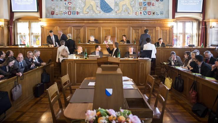 Der Kantonsrat in Zürich.