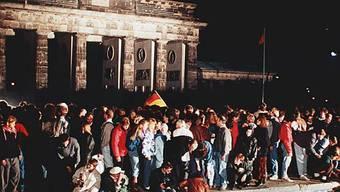 Teile der Berliner Mauer sind in Los Angeles zu sehen