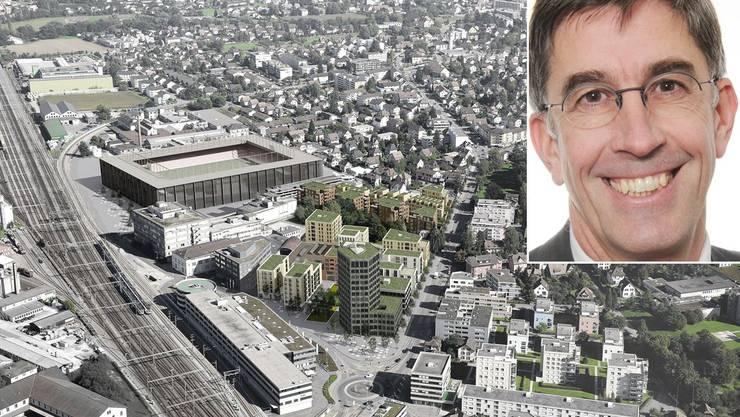 Stadion Torfeld Süd: Peter Heer, Rechtsanwalt und Spezialist für Bau- und Immobilienrecht in Baden, erläutert im Interview Stärken und Schwächen des umstrittenen Gesetzes.