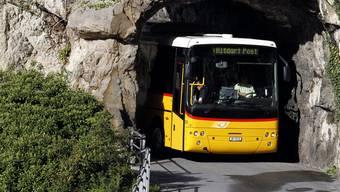Durchgemogelt: Ein Postauto unterwegs im Kanton Uri. Die Regierung will hier keinen Wettbewerb einführen.