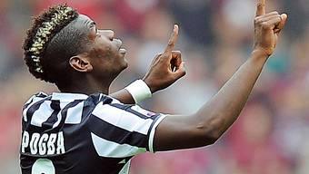Der Franzose Paul Pogba schoss Juve zum Auswärtssieg gegen Parma