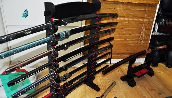 Samuraischwerter sind in allen Preislagen zu haben.