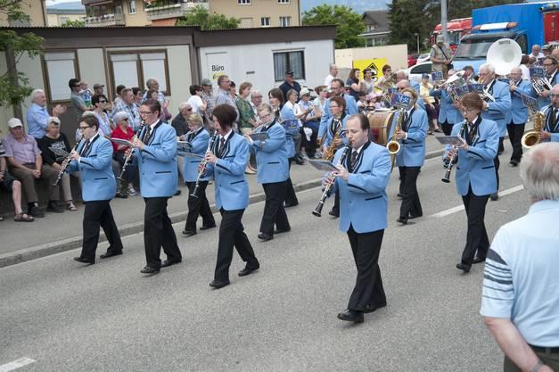 Die MG Recherswil auf der Paradestrecke
