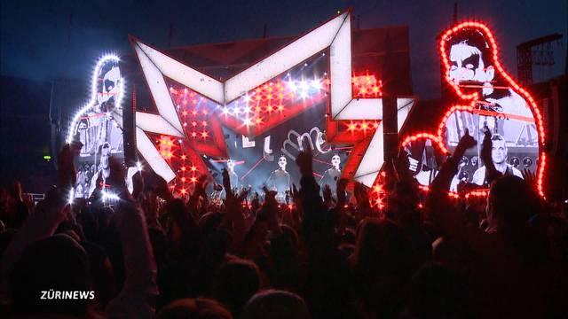 Robbie Williams begeistert 45`000 Konzertbesucher