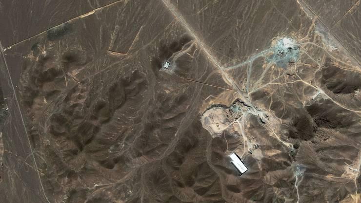 Die Uran-Anreicherungsanlage in Ghom ist eines der Ziele in den israelischen Militärplänen. keystone