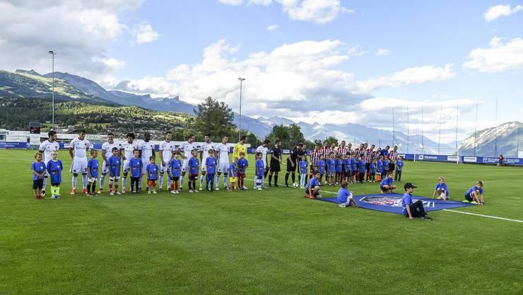 Der FC Basel trat im Trainingslager gegen Athletic Bilbao zum Testspiel an.