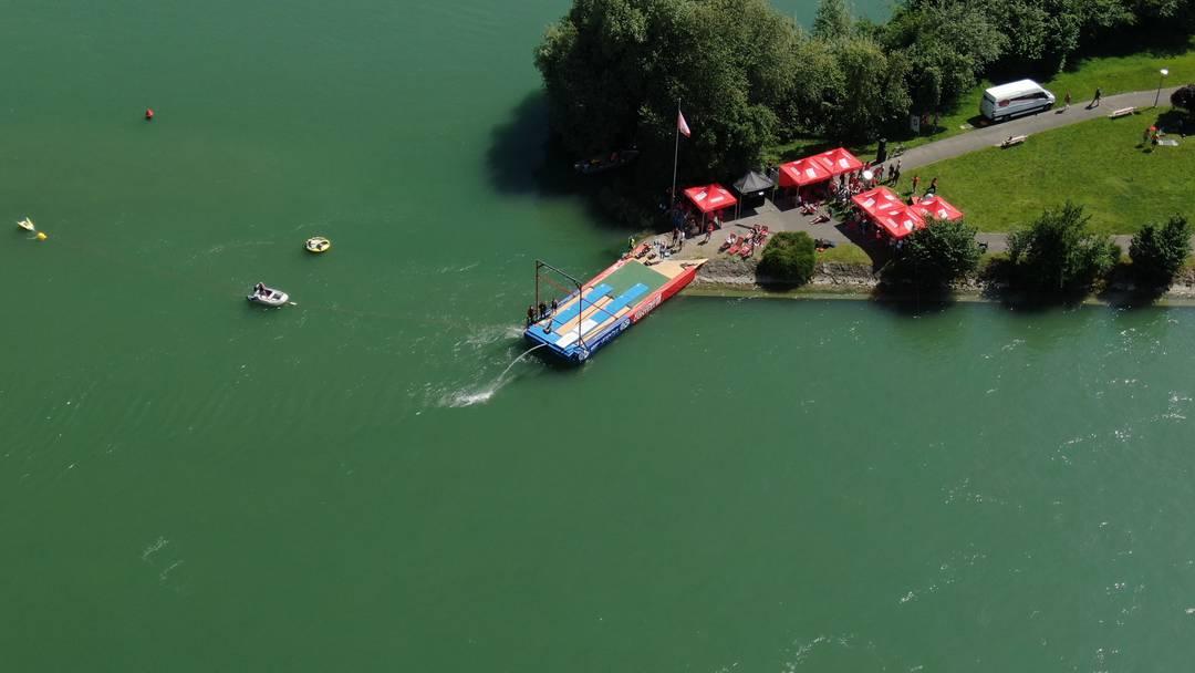 Turnfest Aarau: der Waterings Contest aus der Luft