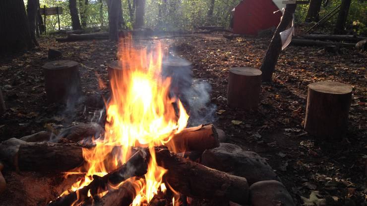 Im Wald darf immer noch kein Feuer entfacht werden.
