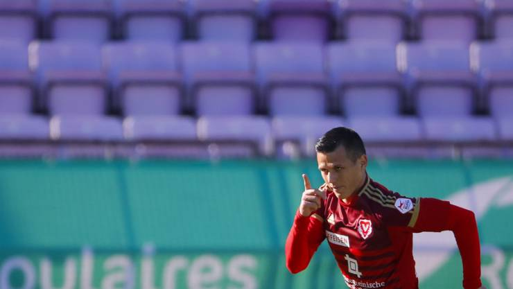 Stjepan Kukuruzovic jubelt künftig nicht mehr für Vaduz, sondern für den FC St. Gallen