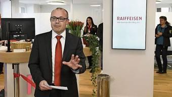 «Andere Banken waren aggressiver», sagt Iwan Suter, Vorsitzender der Bankleitung der Raiffeisenbank Lägern-Baregg.