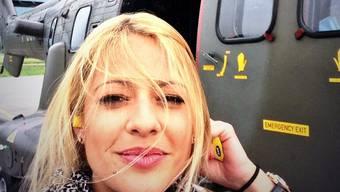 Christa Rigozzi un der Super Puma