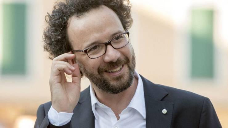 Noch ist es nur ein Gerücht: Carlo Chatrian, der künstlerische Leiter des Filmfestivals Locarno, soll künftig die Berlinale leiten. Noch letztes Jahr hatte er die Idee von sich gewiesen, zumal er ja kein Deutsch spreche. (Archivbild)