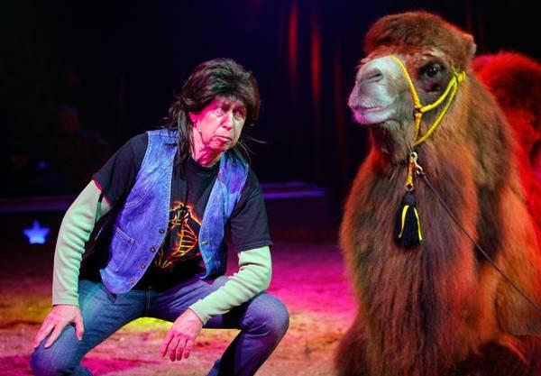 Kiffer Fredi Hinz war 2006 die grosse Attraktion im Circus Knie.