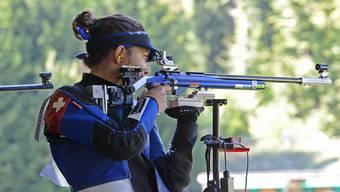 Die 20-jährige Fricktaler 50-m-Gewehrschützin Chiara Leone gewann zum Abschluss der Schweizer Meisterschaften in Thun bei den Juniorinnen dreistellig Bronze.