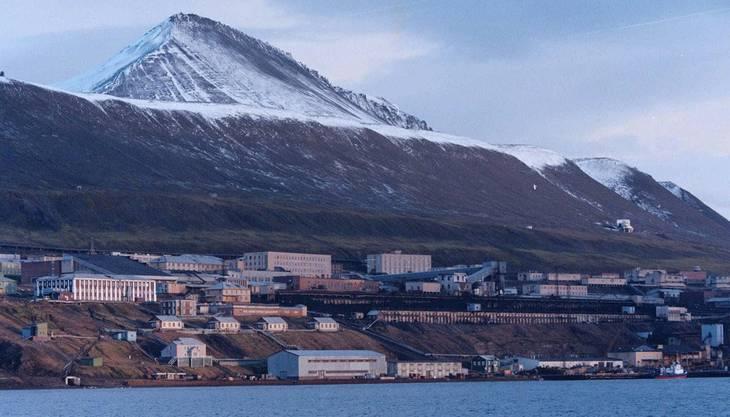 Ein Hauch Sowjetunion im hohen Norden: Die Ortschaft Barentsburg.