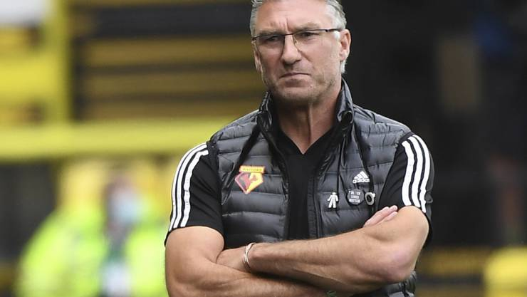 Nigel Pearson ist nicht mehr Trainer von Watford