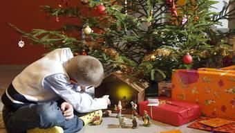 Mythos Familienidylle: Im Kanton St. Gallen musste die Polizei über die Weihnachtstage über ein Dutzend Male ausrücken. Unter anderem stritten Eltern über Sorgerecht, Trennungsabsichten und pädagogische Fragen. (Archivbild)