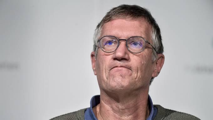 Schwedens Staats-Epidemiologe Anders Tegnell ist ab der steigenden Fälle besorgt.