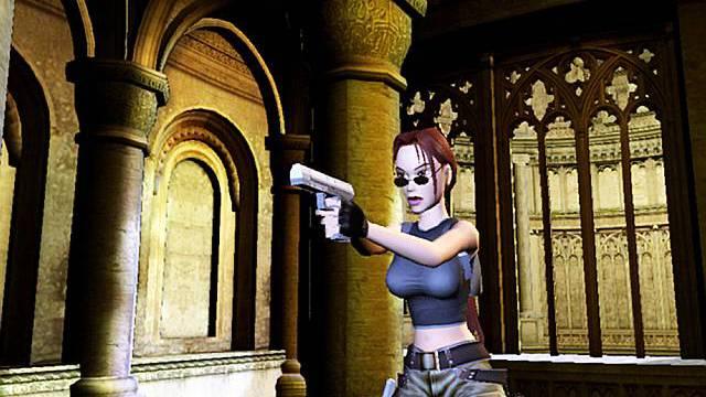 Computerspiel-Figur Lara Croft (Archiv)