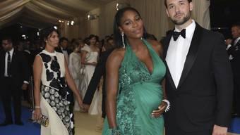 Sind Eltern einer Tochter geworden: Tennisstar Serena Williams und Reddit-Unternehmer Alexis Ohanian. (Archivbild)