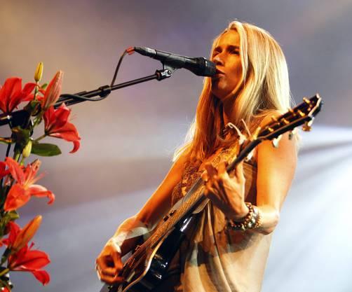 Heather Nova tritt unter dem Titel «Poetry in Music»  auf.
