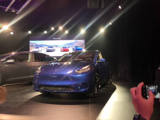 Tesla Model Y Präsentation