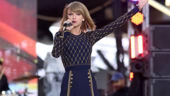 Taylor Swift bei einem Auftritt in New York