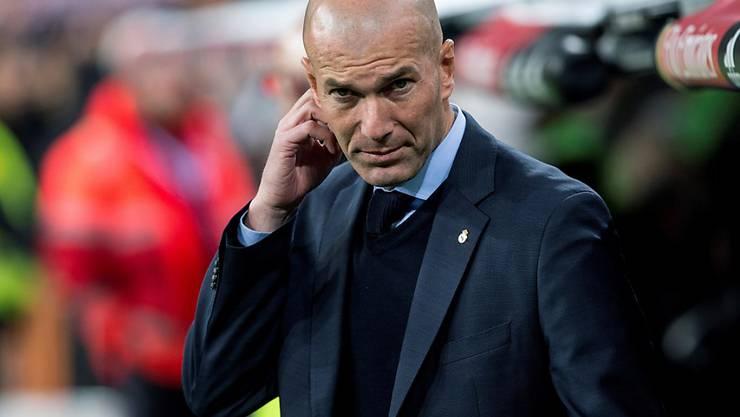 Zinédine Zidane erlebte gegen Leganes den Tiefpunkt seiner Trainerkarriere