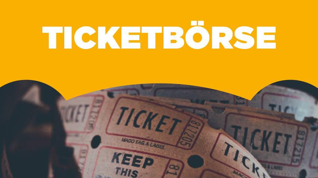 Die RADIO BERN1 Ticketbörse