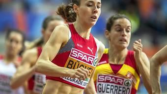 Anfangs März möchte Selina Büchel an der Hallen-WM in Birmingham überzeugen