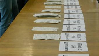 Im Kanton Solothurn waren es bei den Nationalratswahlen 2015 sogar 27 Listen, die ausgezählt werden mussten.