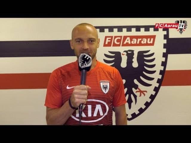 Die Grussbotschaft von Marco Schneuwly an die FCA-Fans.