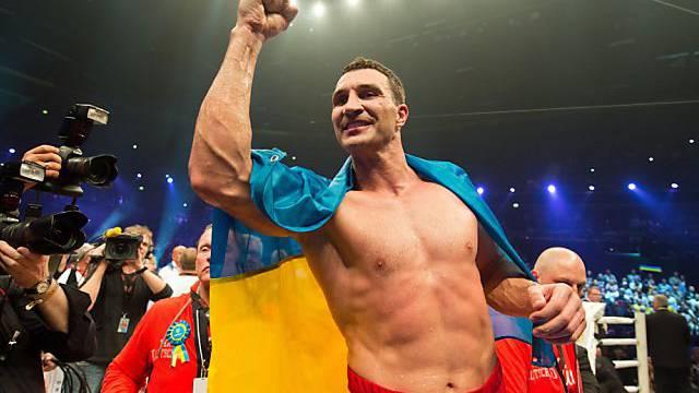 Klitschko bei seiner letzten erfolgreichen WM-Titelverteidigung