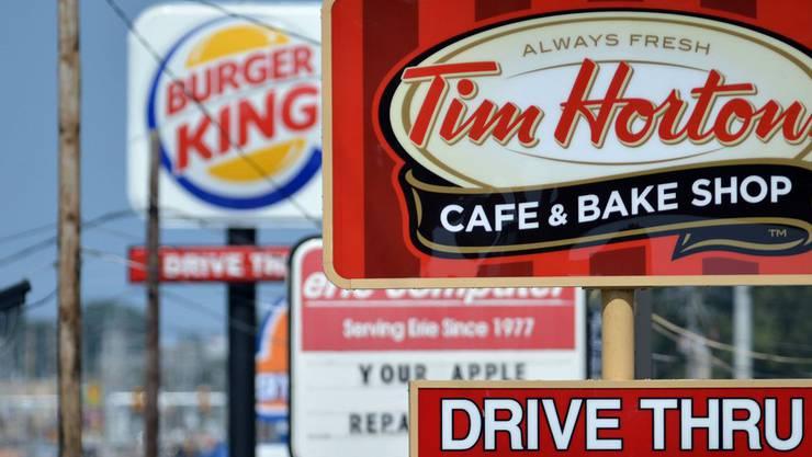TimnHortons ist in Kanada an jeder Ecke zu finden.