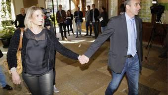 Wahlverlierer Thomas Schaffter mit seiner Frau