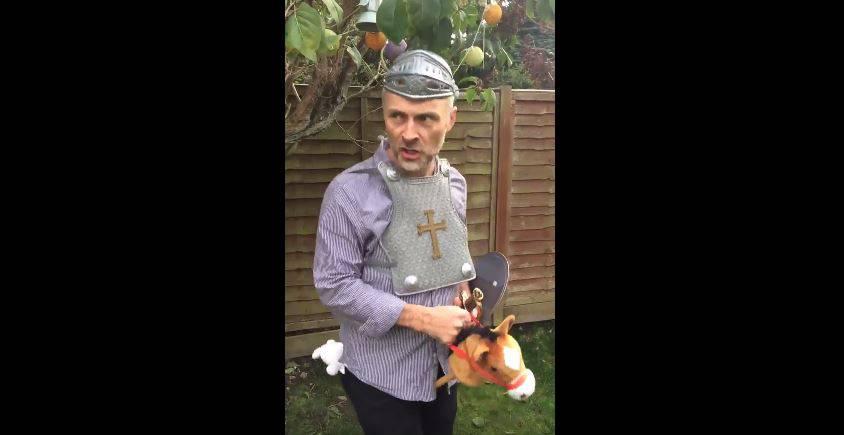 15 Second Shakespeare - Mark Bonnar mit «Gangnam Style»
