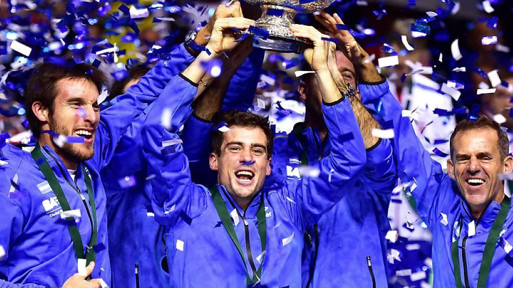 Im Davis Cup wird auch in Zukunft über drei Gewinnsätze gespielt