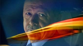 Umstrittener Präsident auf Staatsbesuch: Recep Tayyip Erdogan in Deutschland. CLEMENS BILAN/EPA/KEY