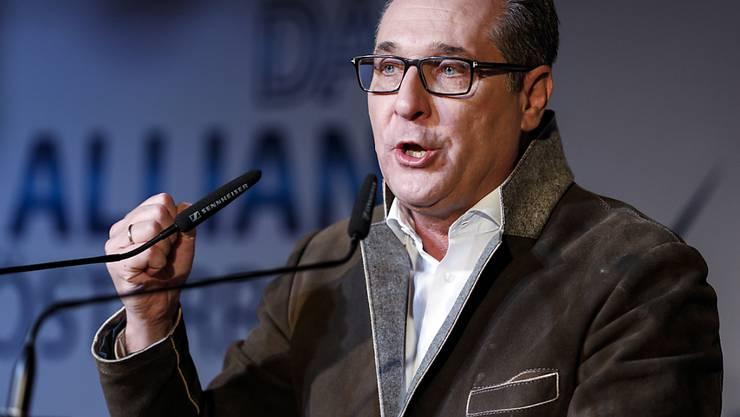 Der über die Ibiza-Affäre in Österreich gestürzte ehemalige FPÖ-Chef Heinz-Christian Strache will Bürgermeister von Wien werden. (Archivbild)