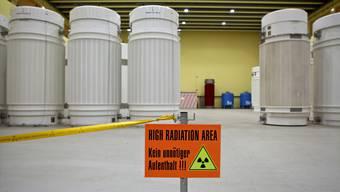 Das Zwischenlager für radioaktive Abfälle in Würenlingen im Kanton Aargau.