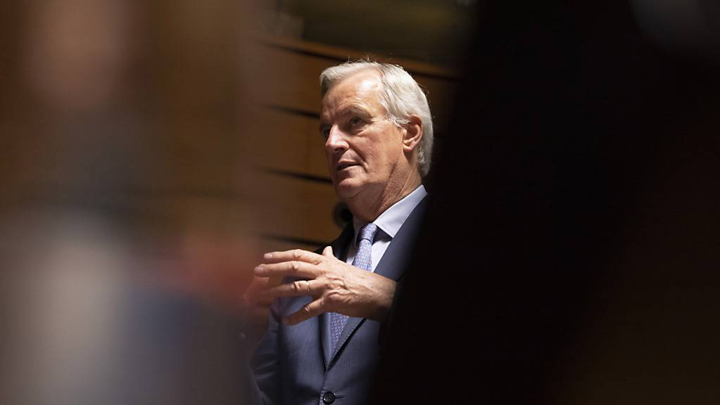 Berät mit Vertretern der britischen Regierung über ein Brexit-Abkommen: EU-Chefverhandler Michel Barnier.