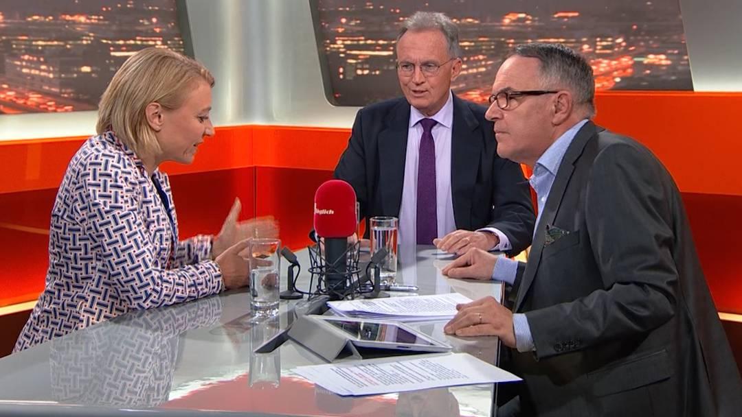 Yvonne Feri und Hans-Ulrich Bigler diskutieren über Rentenalter 67 im TalkTäglich