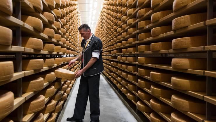 Gruyère, der meistexportierte Käse der Schweiz, könnte in Südamerika gut ankommen.
