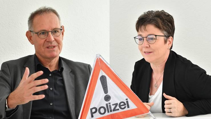 Beide sind nicht praktizierende Rechtsanwälte: FDP-Kantonsrat und Parteipräsident Stefan Nünlist (Olten, Contra) und CVP-Kantonsrätin Karin Kissling (Pro, Wolfwil).