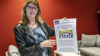 Erika Bachmann, die Gesamtleiterin von Lausen Kulturell, freut sich auf den Jubiläumsanlass.