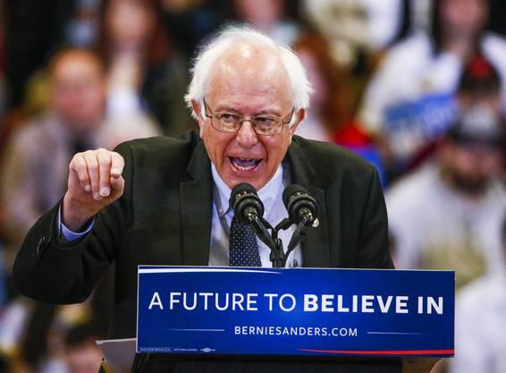Bernie Sanders: Der Präsidentschaftskandidat warb 2016 für sozialistische Ideen, unterlag aber gegen Hillary Clinton.