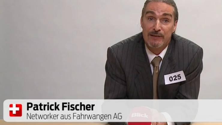 Patrick Fischer hält im Casting eine «Rede vor dem Volk».