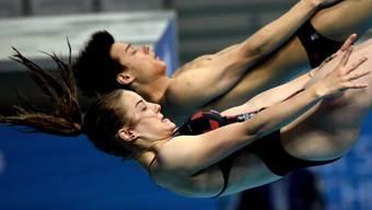 Michelle Heimberg und Jonathan Suckow wurden EM-Fünfte