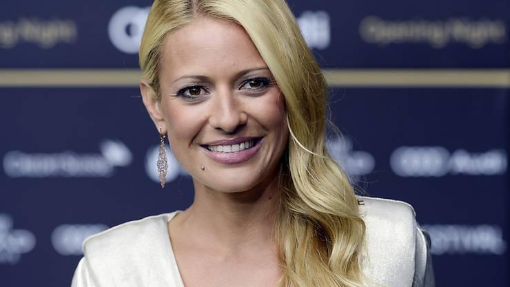 Wird bald Mutter: Moderatorin und Ex-Schönheitskönigin Christa Rigozzi. (Archivbild)