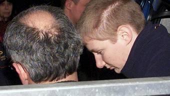 """""""Parkhausmörderin"""" Caroline H. während ihres Prozesses 2001."""